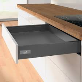 Standard Height - Soft Closing - Hettich Drawer - Anthracite