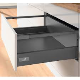 High Sided - Soft Closing -Hettich Drawer - Anthracite
