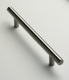 T-Bar Handle - 244mm - Stainless Steel