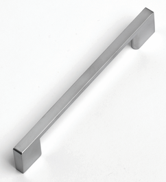 Slim Square D Handle - 182mm - Stainless Steel
