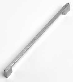 Slim Square D Handle - 290mm - Stainless Steel