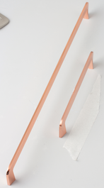 Slimline Handle - 336mm - Brushed Copper