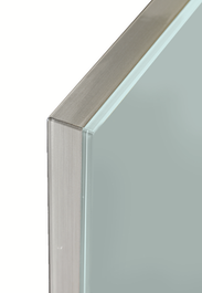 Zurfiz Gloss Door - With Glass Effect Edge